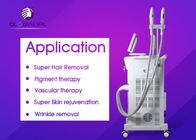3 Handpiece SHR IPL Beauty Machine For Hair Removal / Pigment Therapy