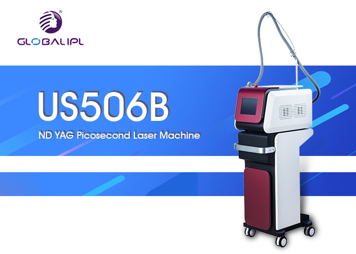 532 / 755 / 1064nm Wavelength 800mj Laser Tattoo Removal Equipment 8.4 Inch Screen